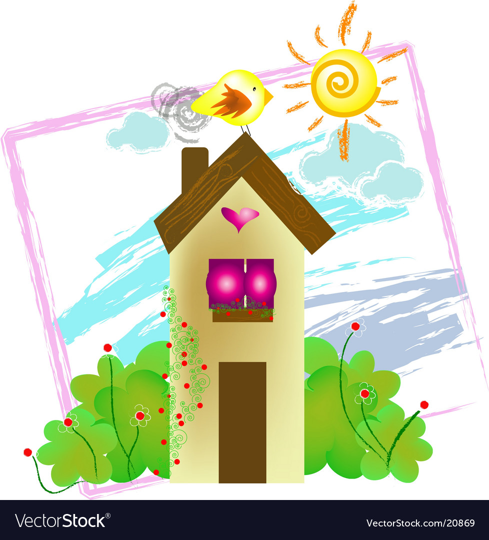 Home sweet home vector | Price: 3 Credit (USD $3)