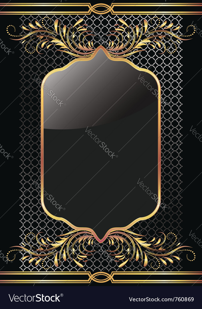 Luxury golden ornament vector | Price: 1 Credit (USD $1)