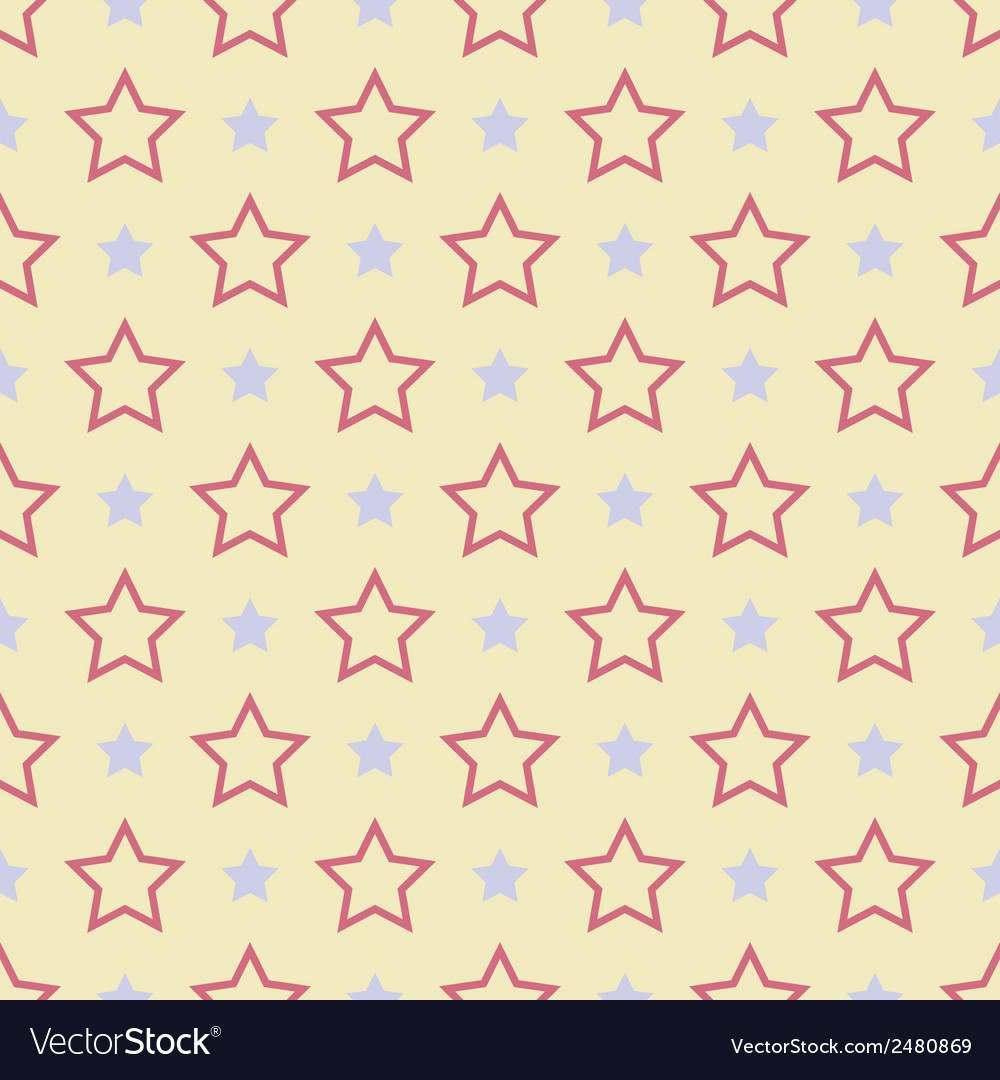 Nice seamless pattern tiling sweet red blue vector | Price: 1 Credit (USD $1)