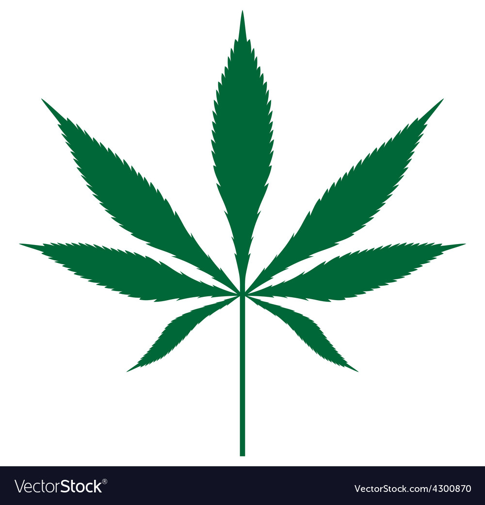 Cannabis leaf3 resize vector | Price: 1 Credit (USD $1)