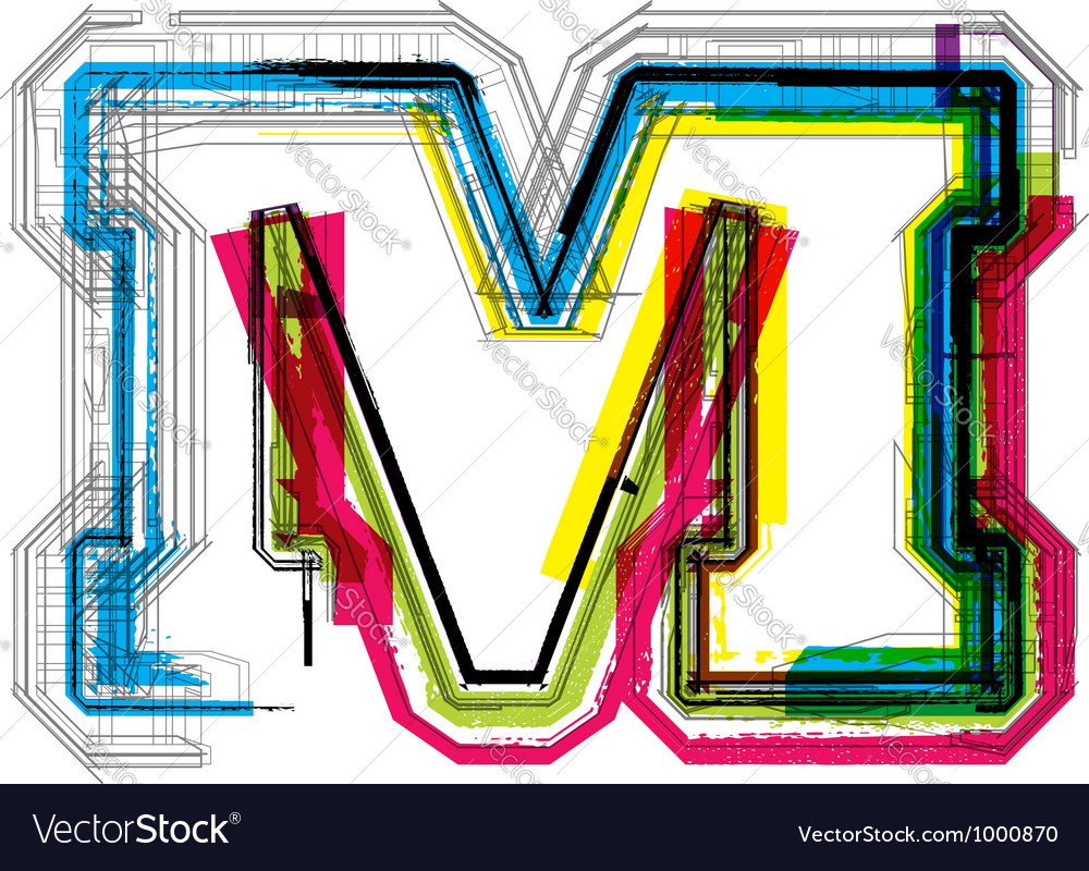 Technical typography vector | Price: 1 Credit (USD $1)