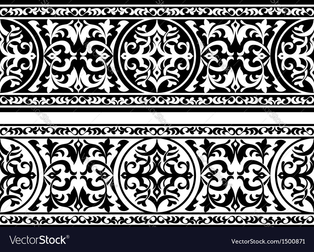 Decorative ornament vector | Price: 1 Credit (USD $1)