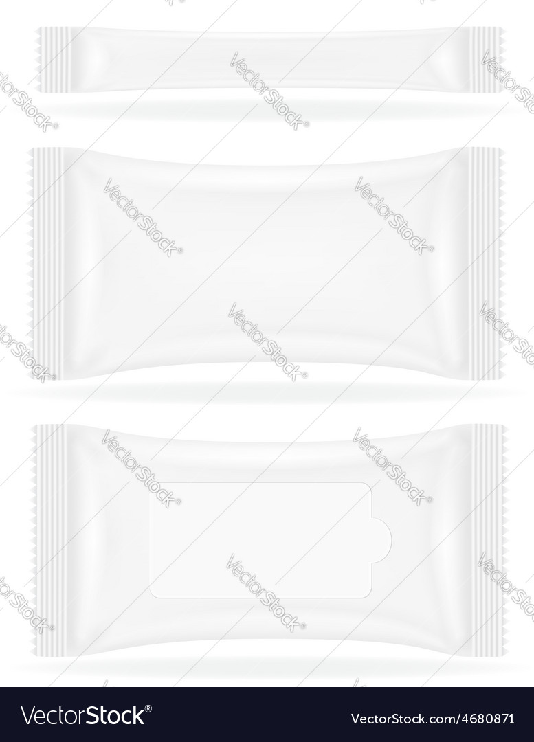 Sealed bag packing 04 vector | Price: 1 Credit (USD $1)