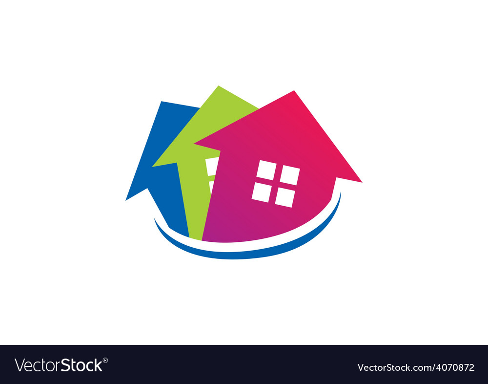 House realty sold logo vector | Price: 1 Credit (USD $1)