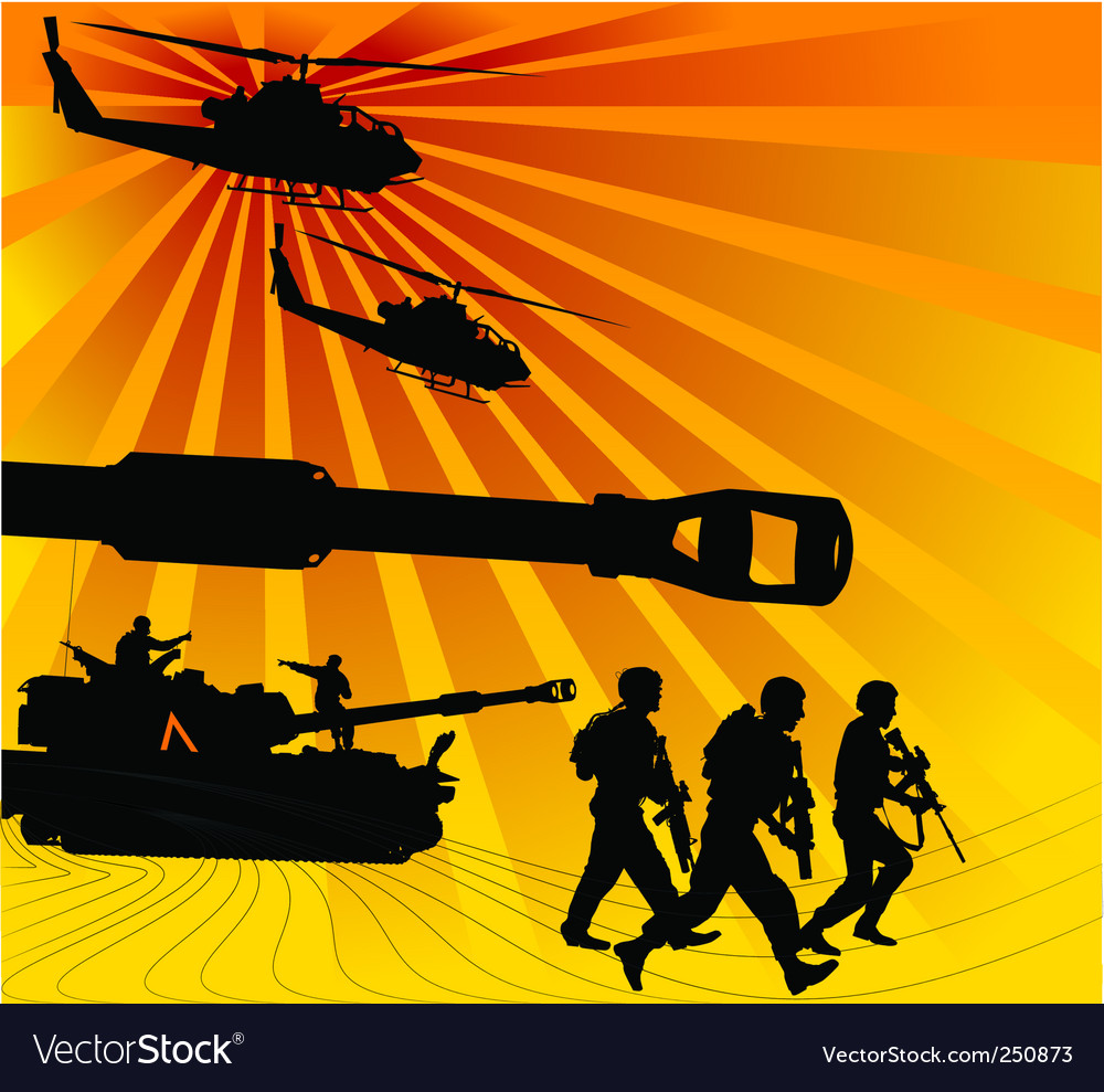 Army offensive vector | Price: 1 Credit (USD $1)