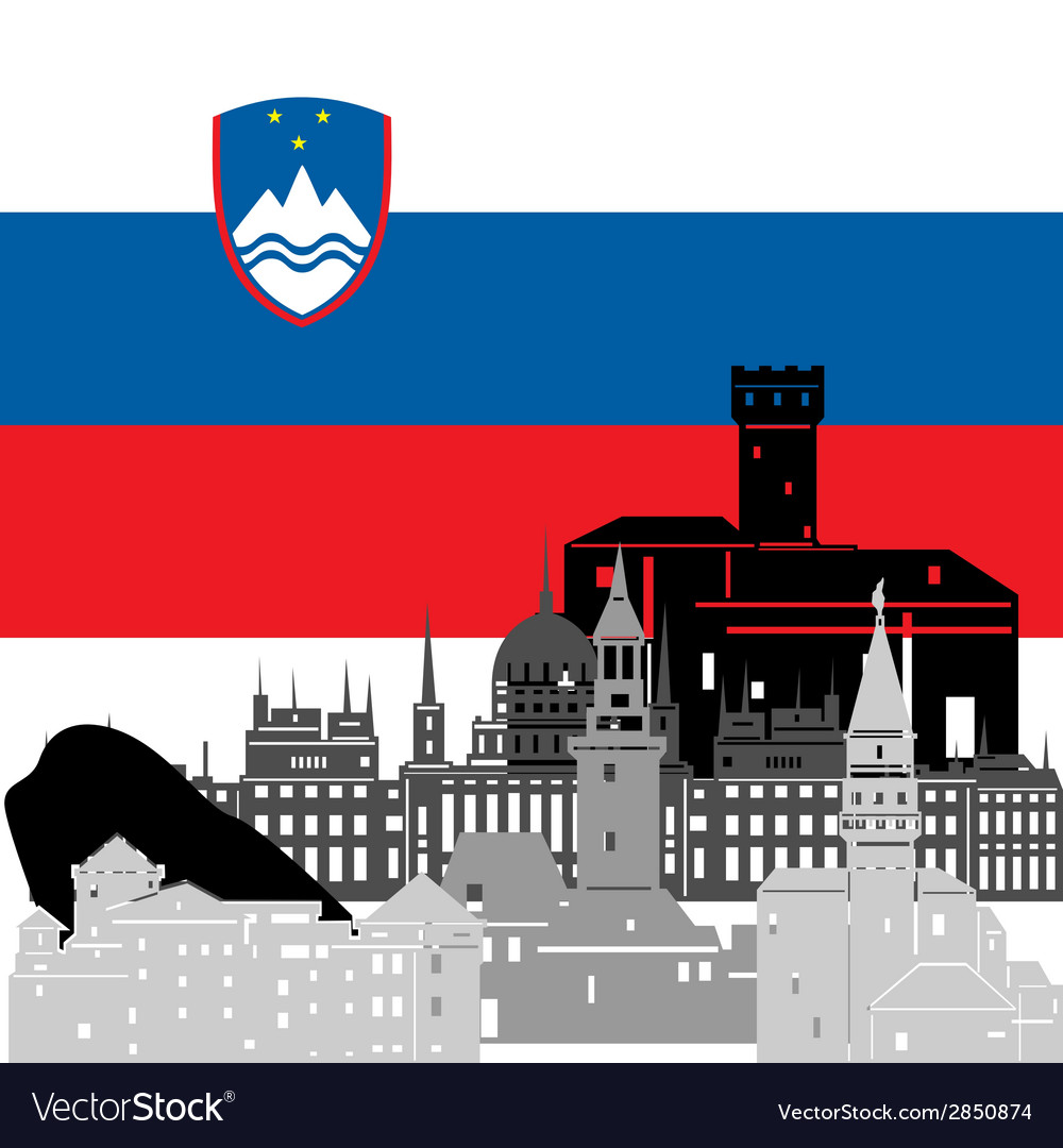 Slovenia vector | Price: 1 Credit (USD $1)