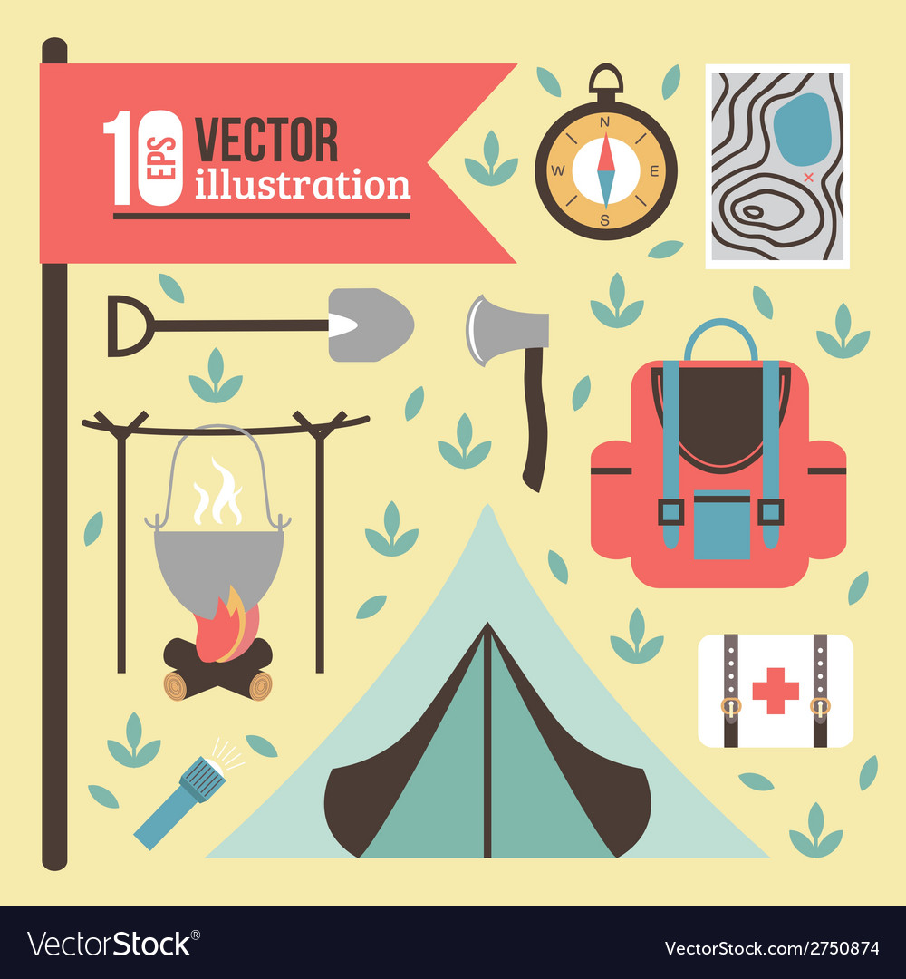 Summertime vacations and traveling background vector   Price: 1 Credit (USD $1)