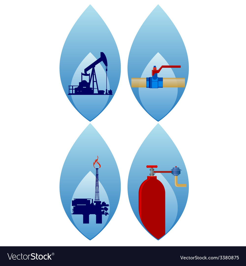 Gas industry-1 vector | Price: 1 Credit (USD $1)