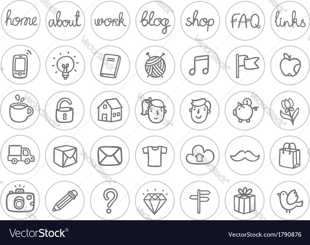 Miscellaneous icons vector | Price: 1 Credit (USD $1)