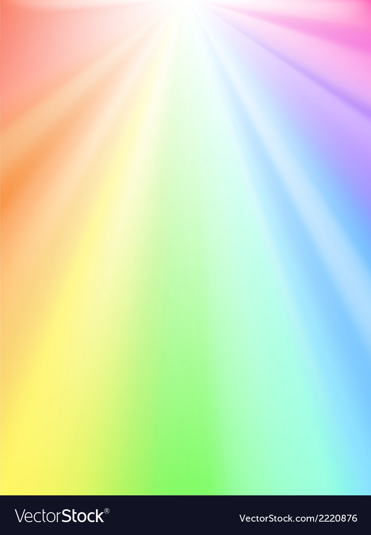 Rainbow light vector | Price: 1 Credit (USD $1)