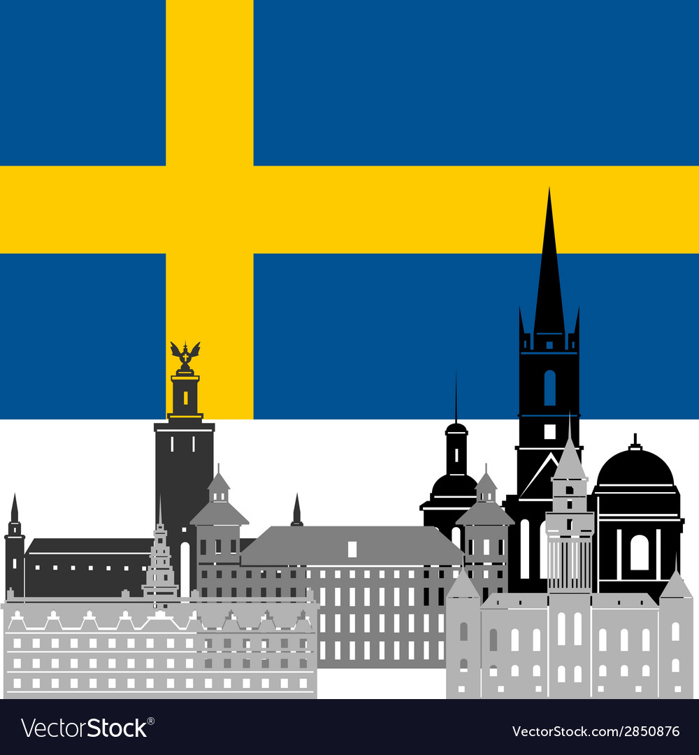 Sweden vector | Price: 1 Credit (USD $1)