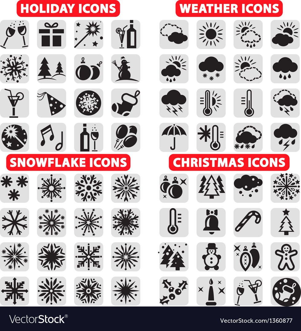 Big set of icons vector | Price: 1 Credit (USD $1)