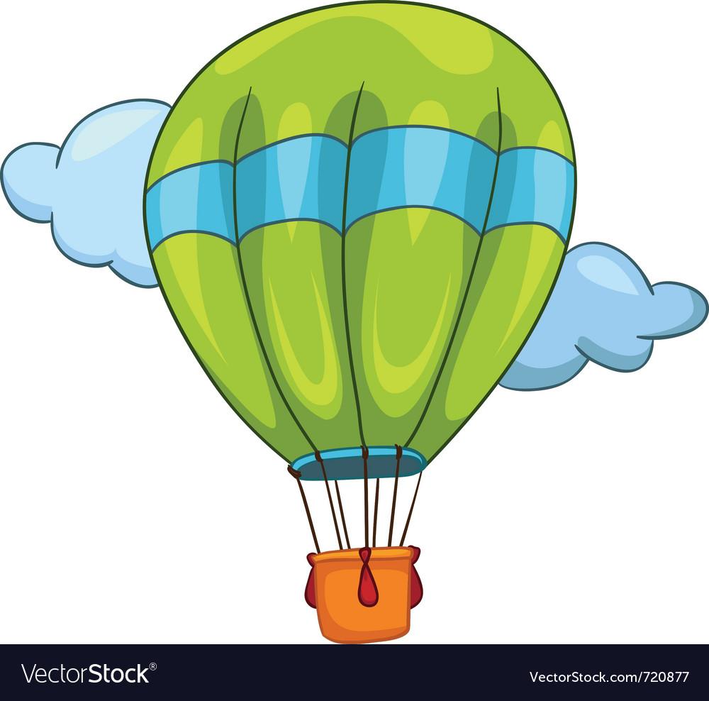 Cartoon balloon vector | Price: 1 Credit (USD $1)
