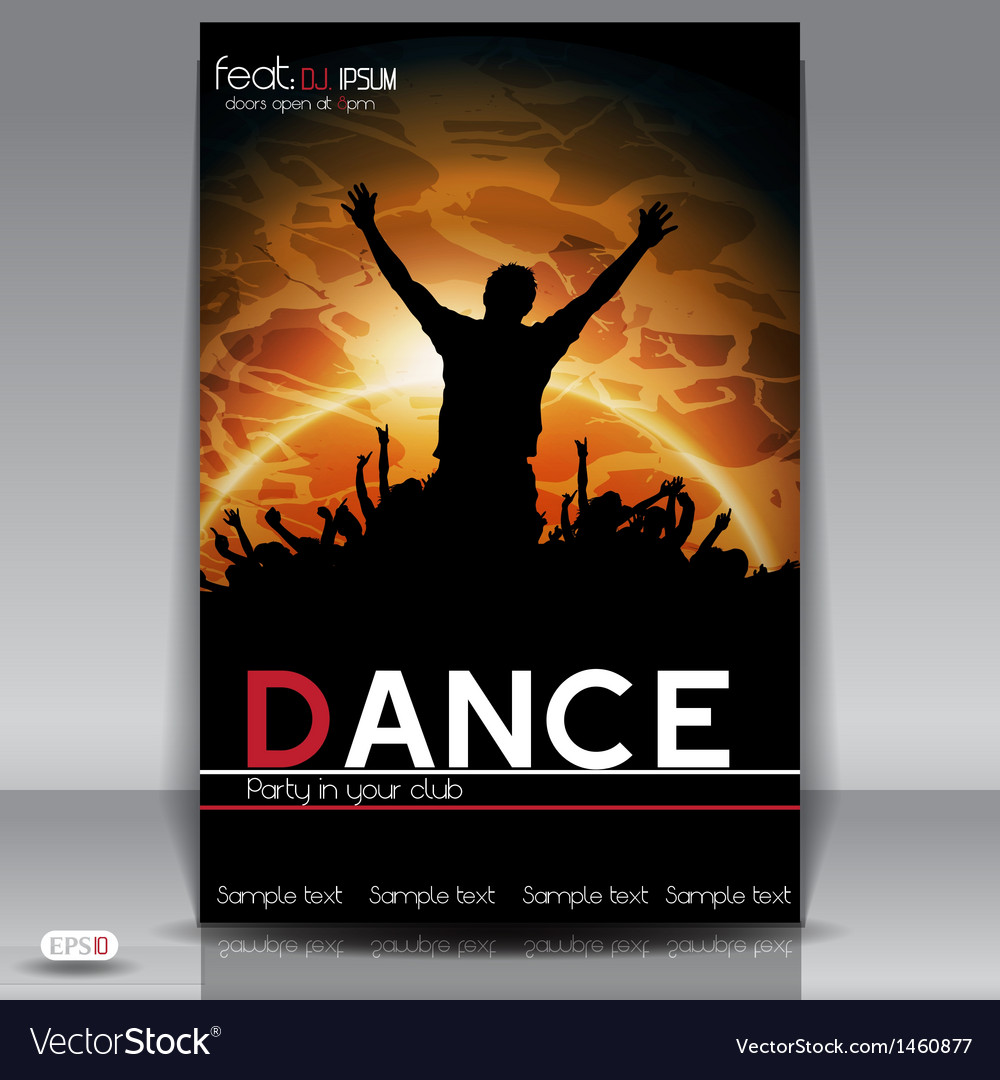 Dance party vector | Price: 1 Credit (USD $1)