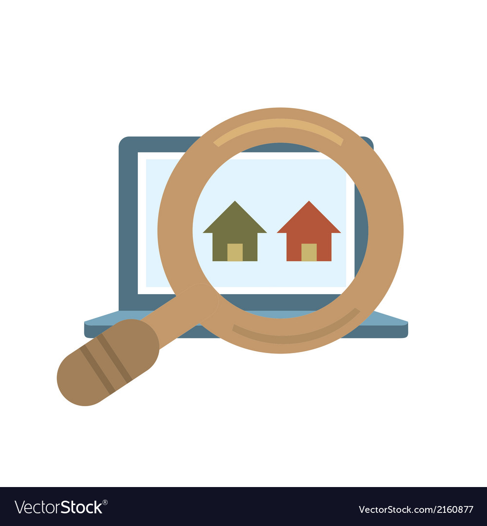 Finding real estate vector | Price: 1 Credit (USD $1)