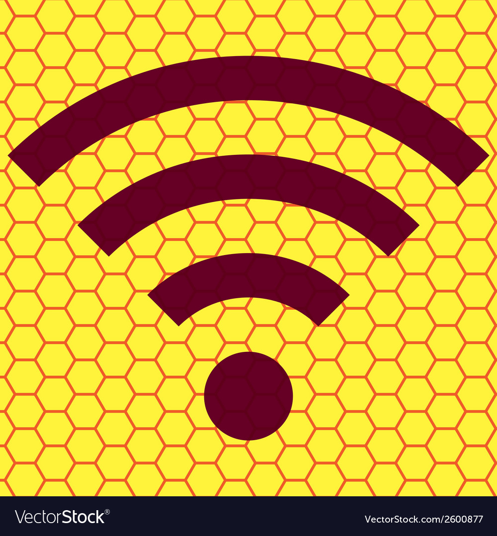 Wi-fi flat modern web button and space for your vector   Price: 1 Credit (USD $1)