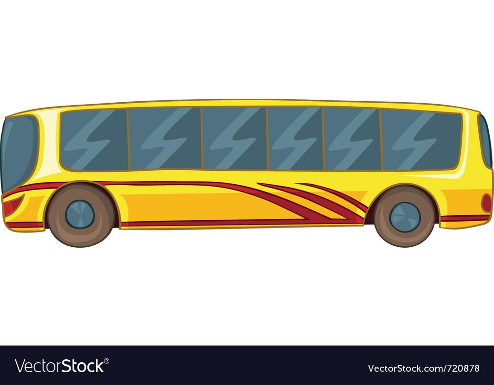 Cartoon bus vector | Price: 1 Credit (USD $1)