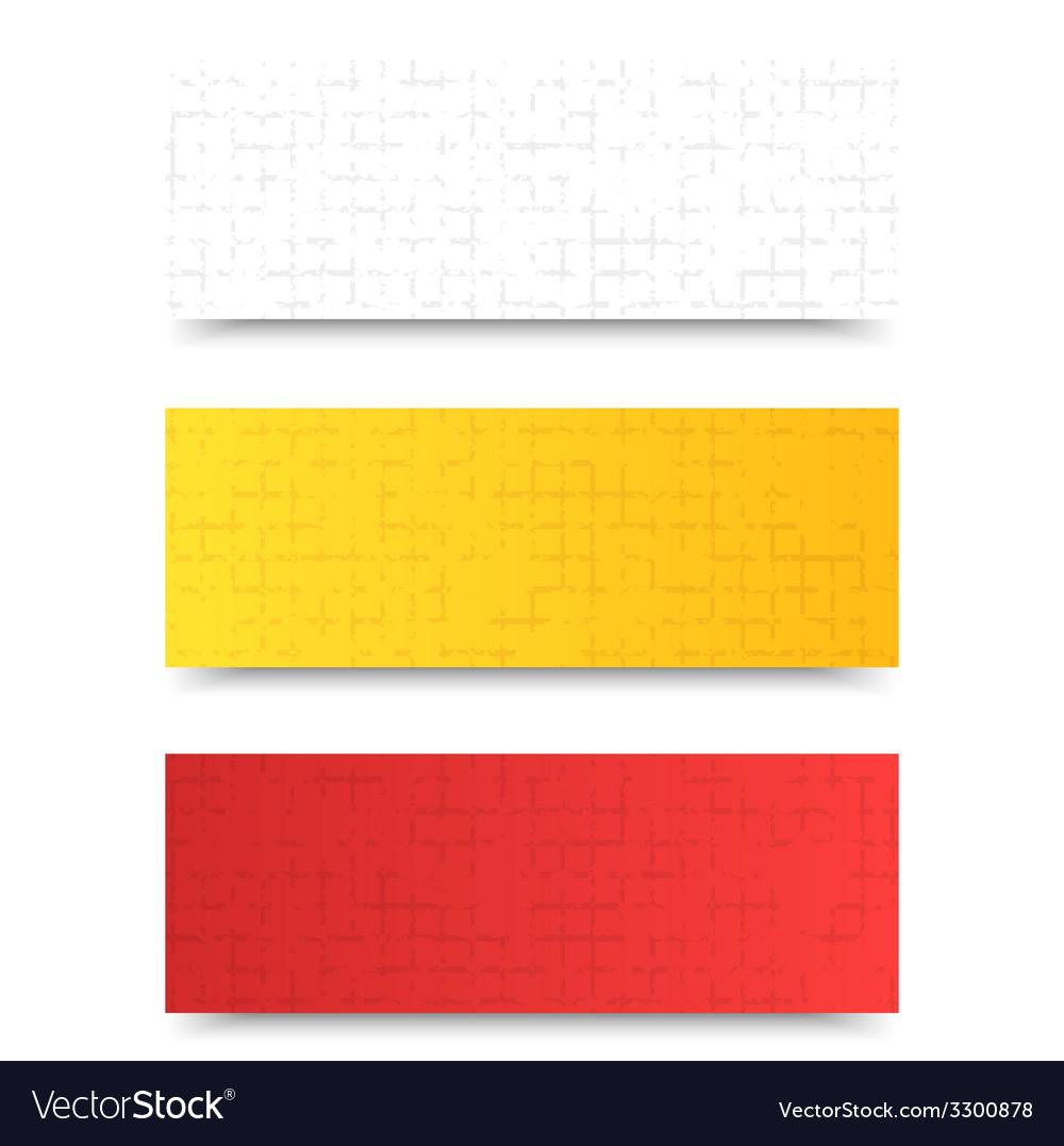 Grunge template header design vector | Price: 1 Credit (USD $1)
