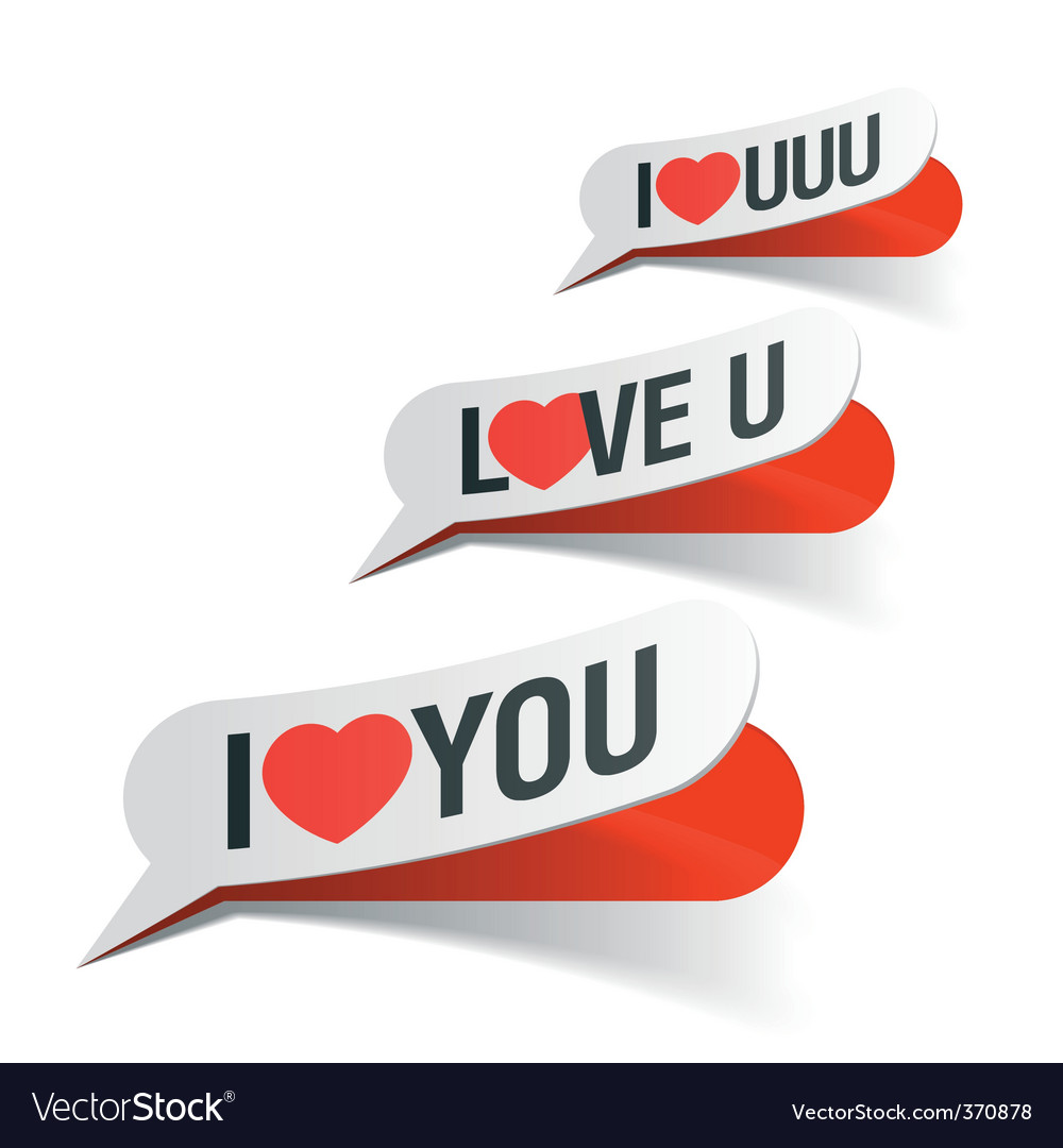 I love you bubbles vector | Price: 1 Credit (USD $1)