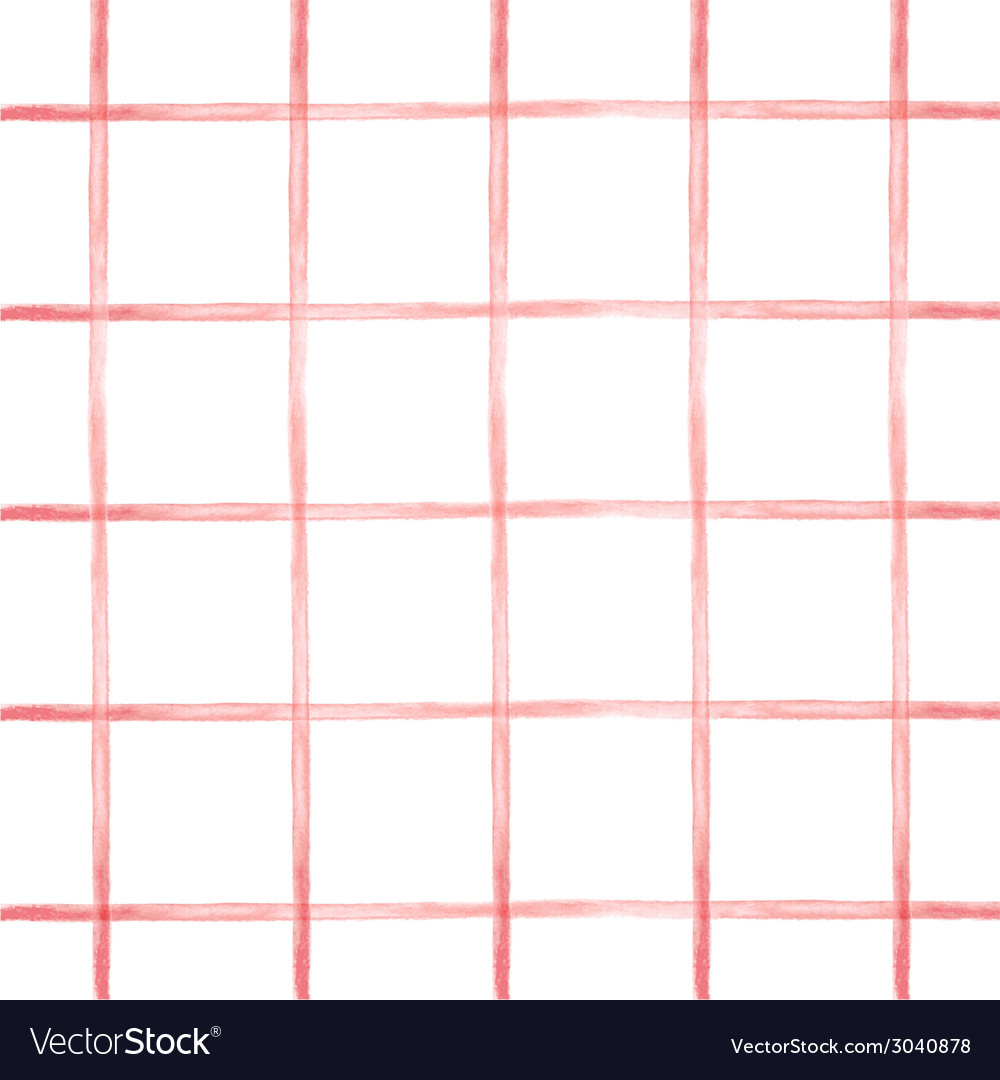 Seamless pattern in red cell vector | Price: 1 Credit (USD $1)