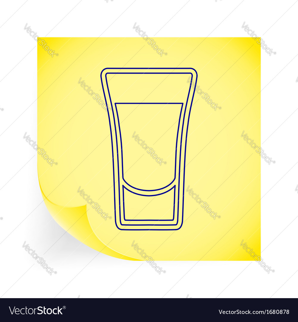 Shot drink vector | Price: 1 Credit (USD $1)