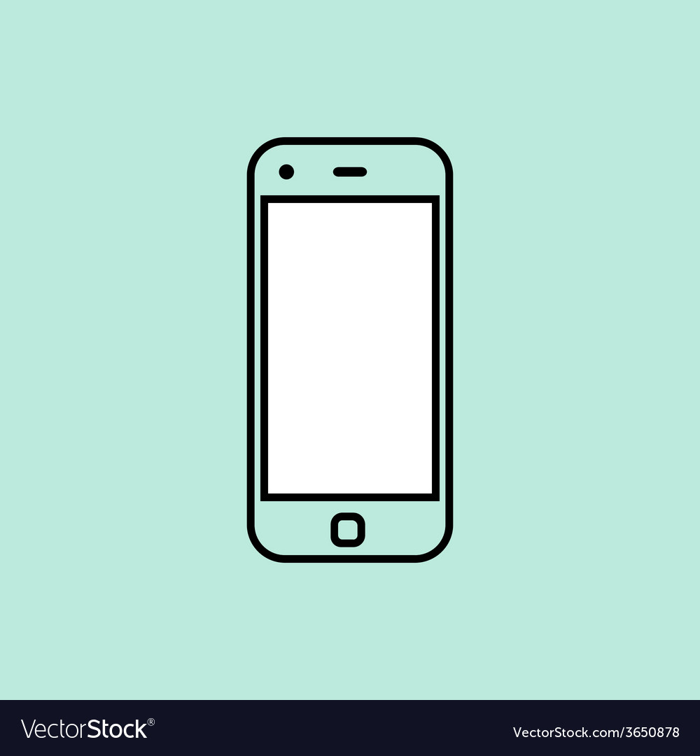 Smartphone design template element for web and vector | Price: 1 Credit (USD $1)