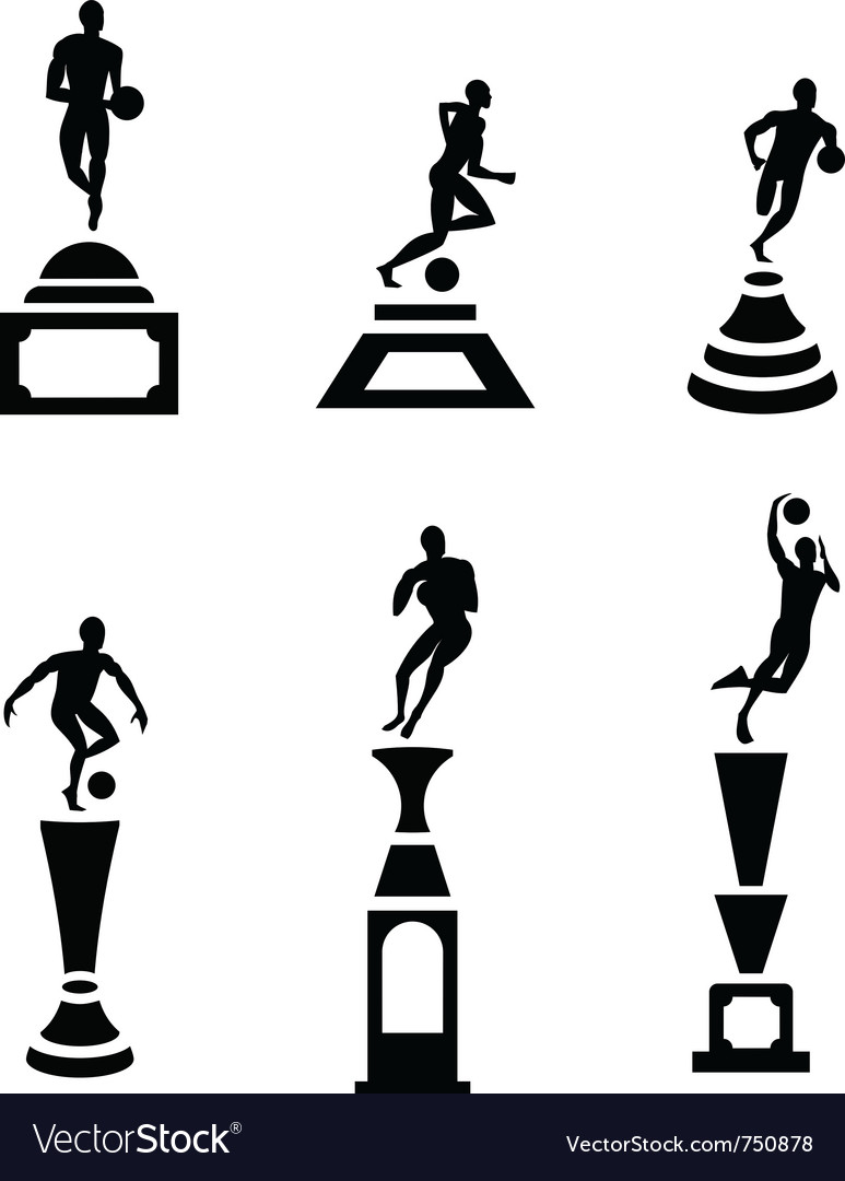 Sport trophy vector | Price: 1 Credit (USD $1)