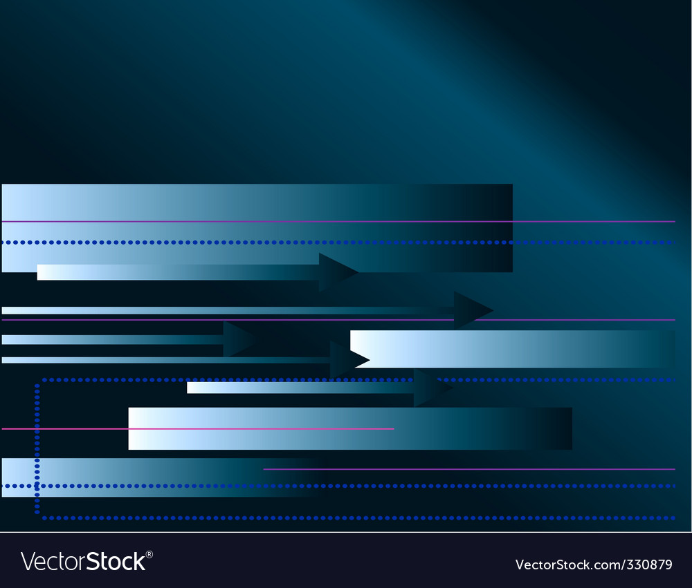 Blue abstract background with arrows vector | Price: 1 Credit (USD $1)