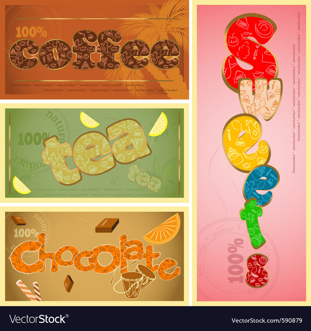 Cafe typography vector | Price: 1 Credit (USD $1)