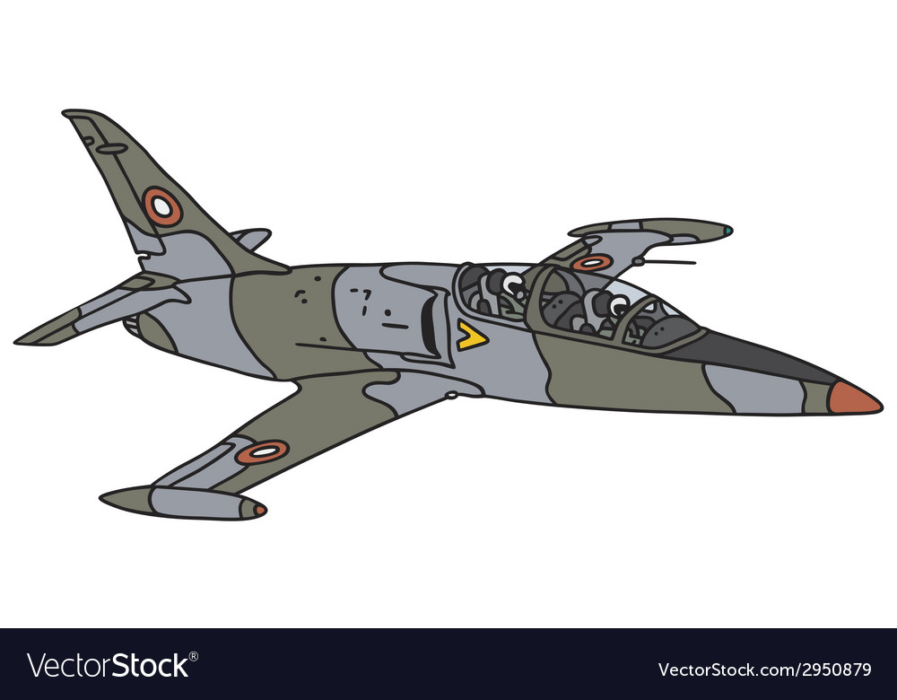 Camouflage aircraft vector | Price: 1 Credit (USD $1)