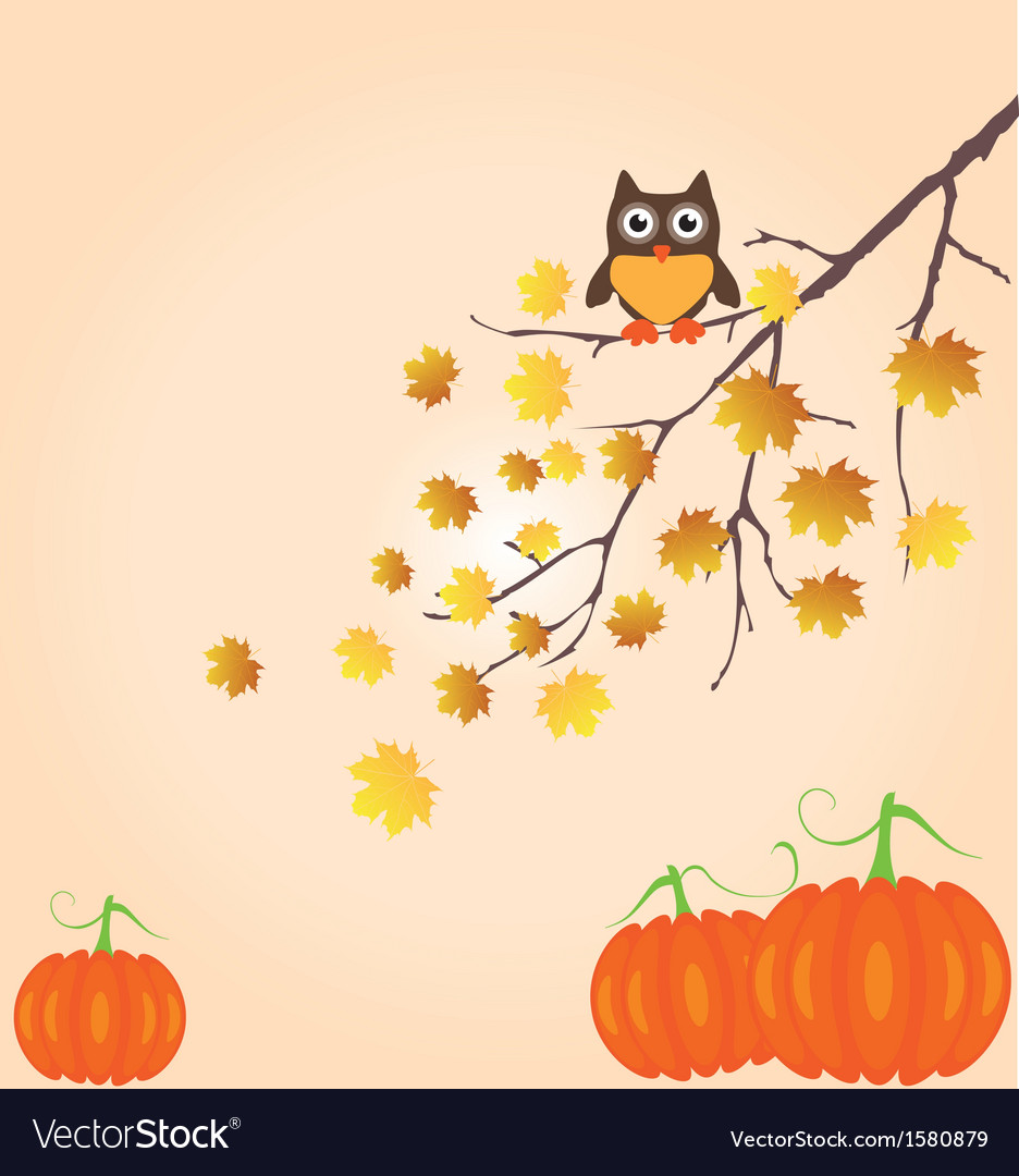 Fall branch vector | Price: 1 Credit (USD $1)