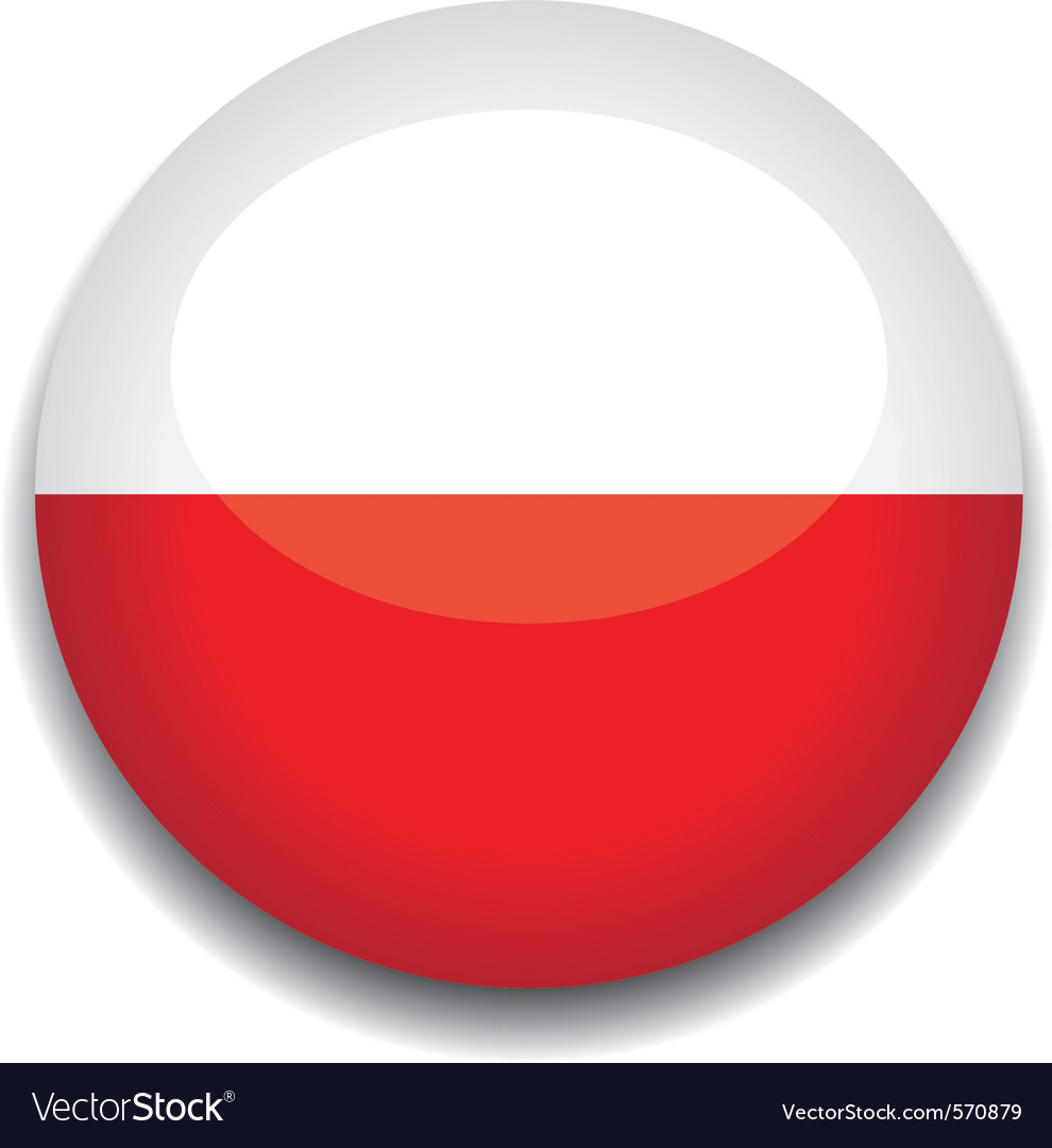 Poland flag vector | Price: 1 Credit (USD $1)