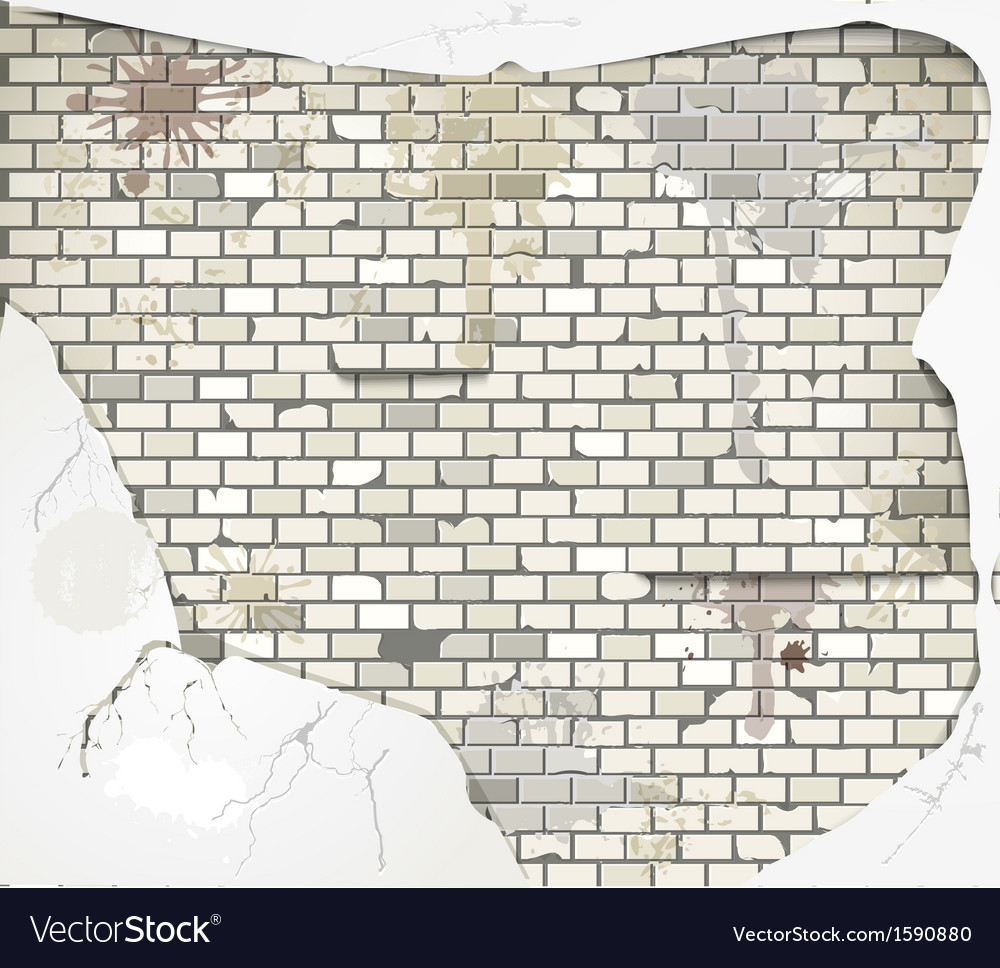 Damaged wall vector | Price: 1 Credit (USD $1)