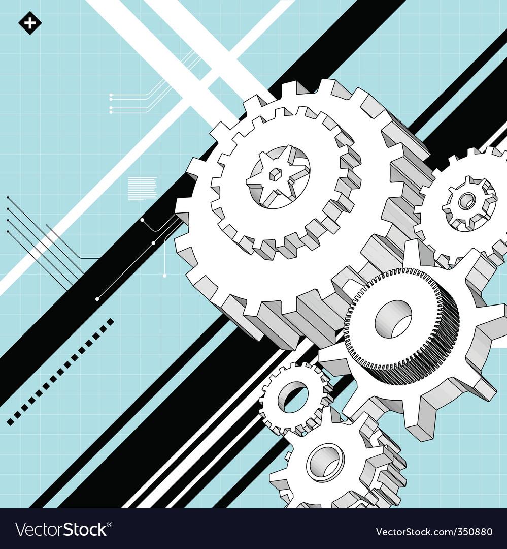 Mechanic illustration vector | Price: 1 Credit (USD $1)