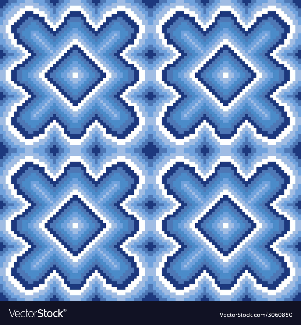Seamless pattern with winter motif vector | Price: 1 Credit (USD $1)