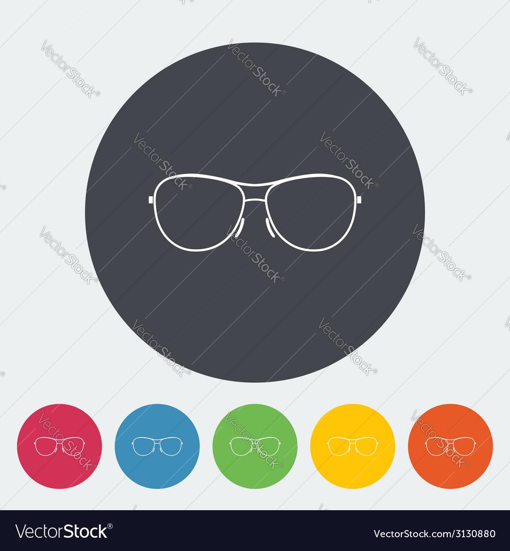 Sunglasses vector | Price: 1 Credit (USD $1)