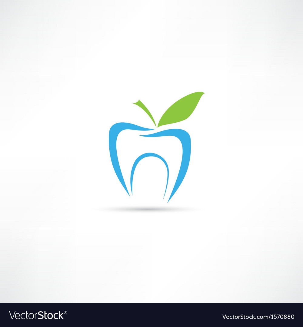 Tooth icon vector | Price: 1 Credit (USD $1)