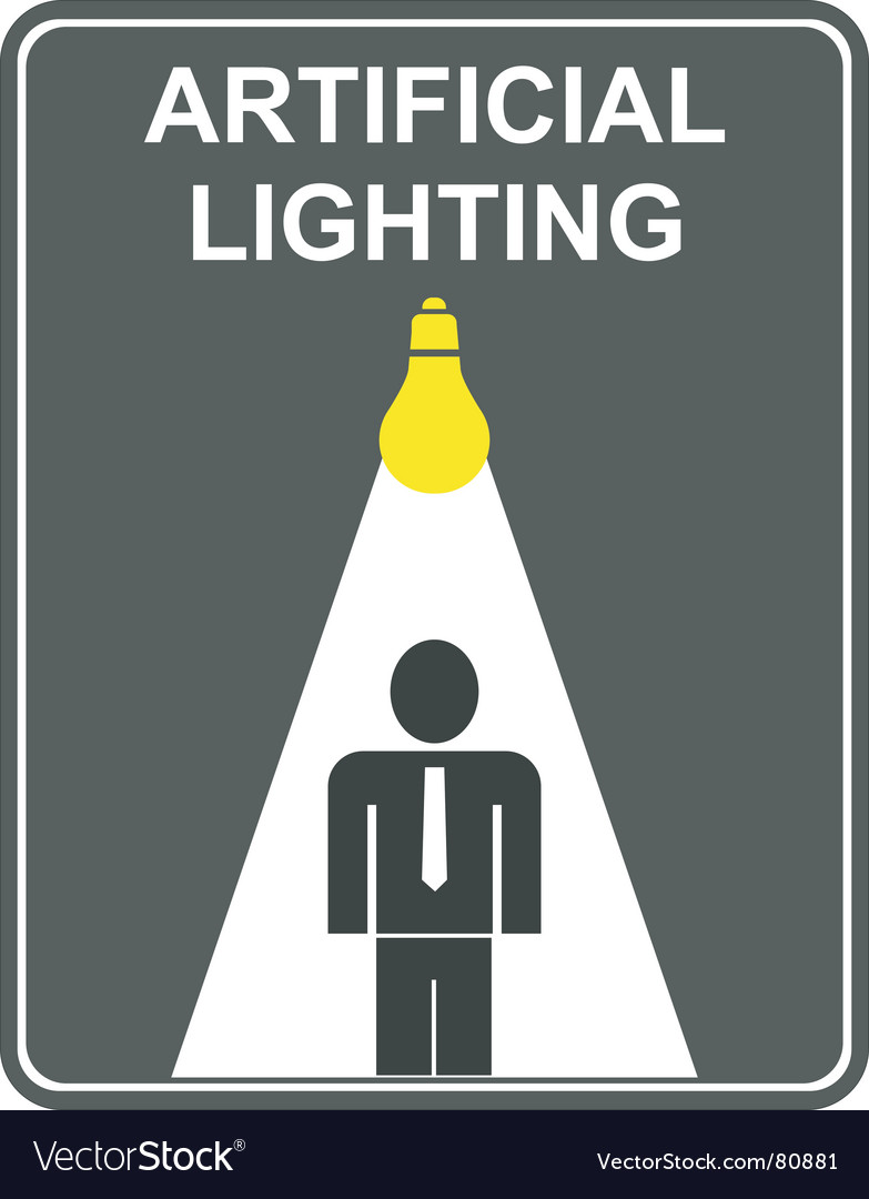 Artificial lighting vector   Price: 1 Credit (USD $1)
