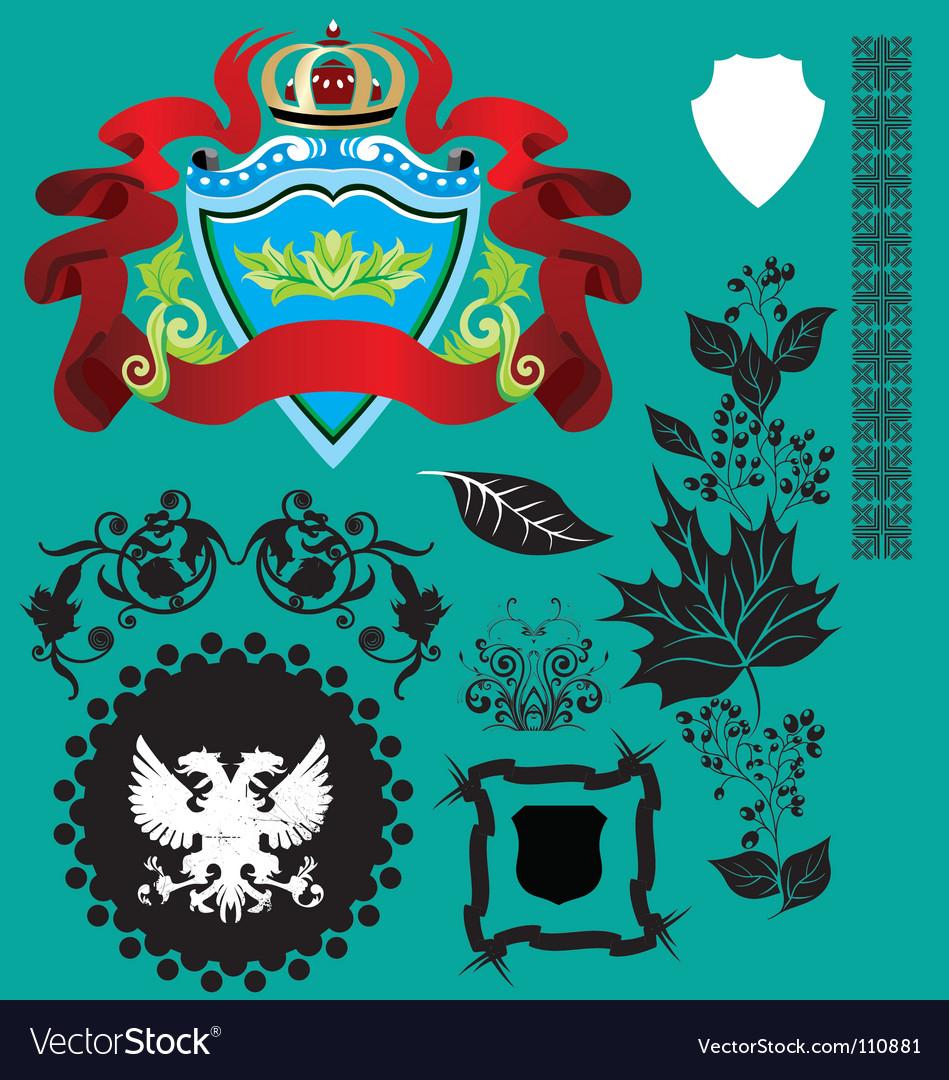 Heraldry vector | Price: 1 Credit (USD $1)