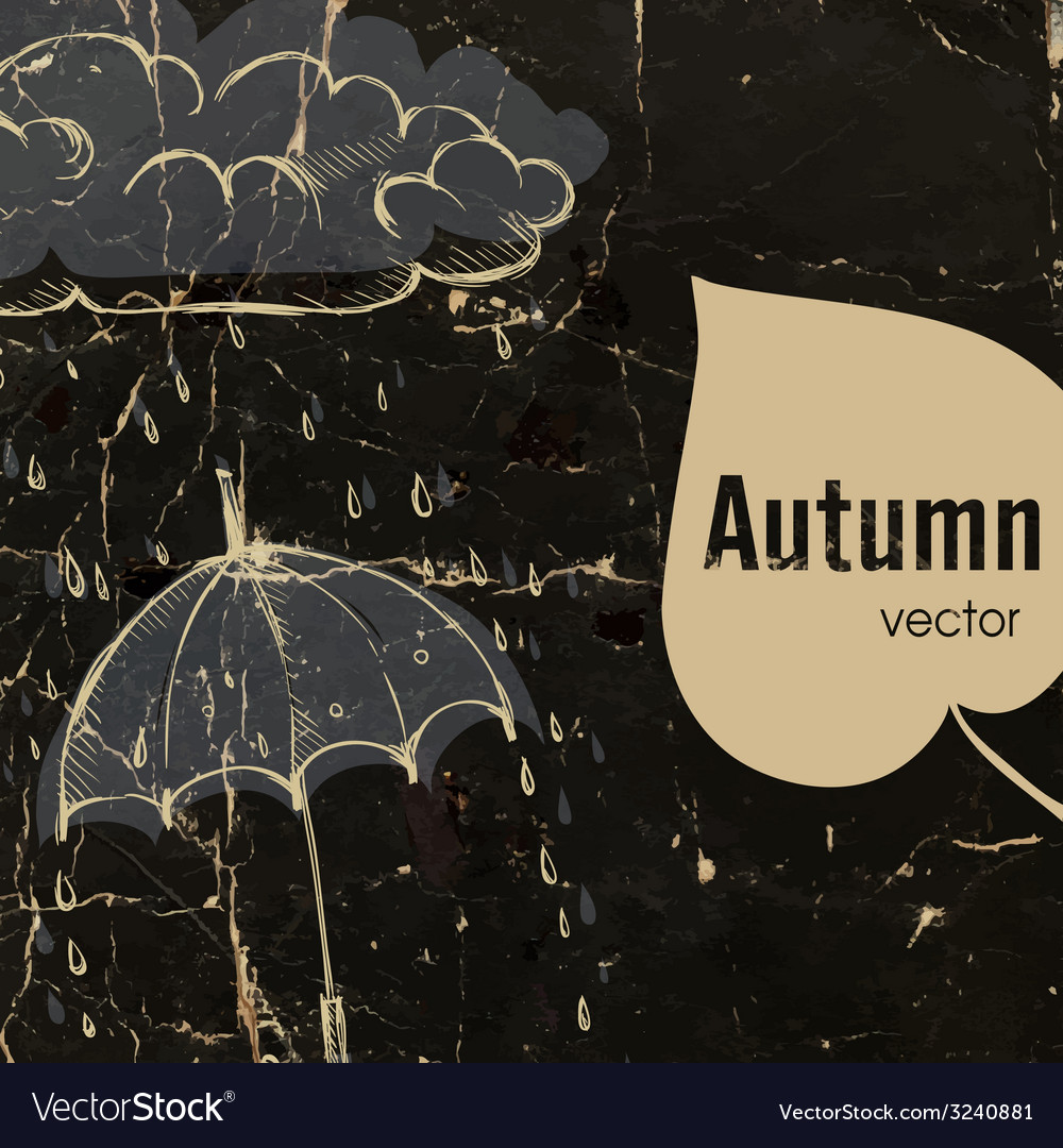 Rainy season background vector | Price: 1 Credit (USD $1)