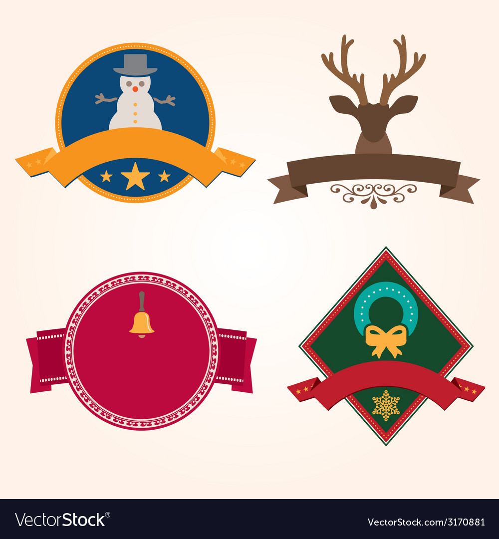 Set of christmas vector | Price: 1 Credit (USD $1)