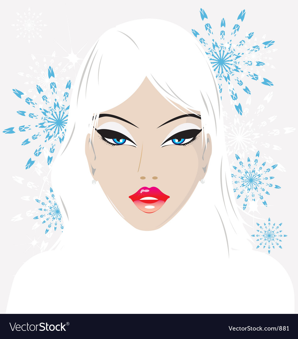 Winter babe vector | Price: 3 Credit (USD $3)