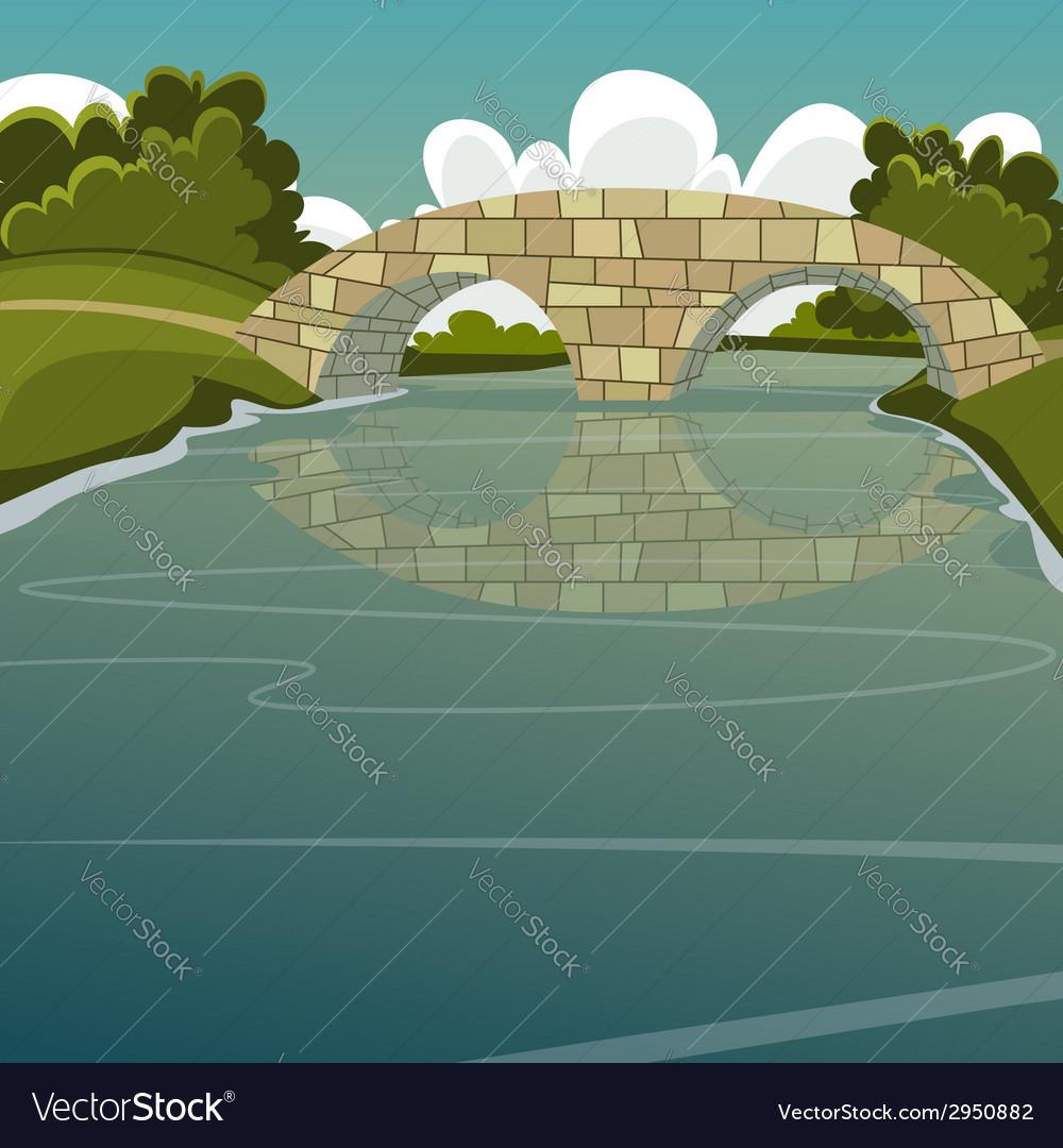 The bridge vector | Price: 3 Credit (USD $3)