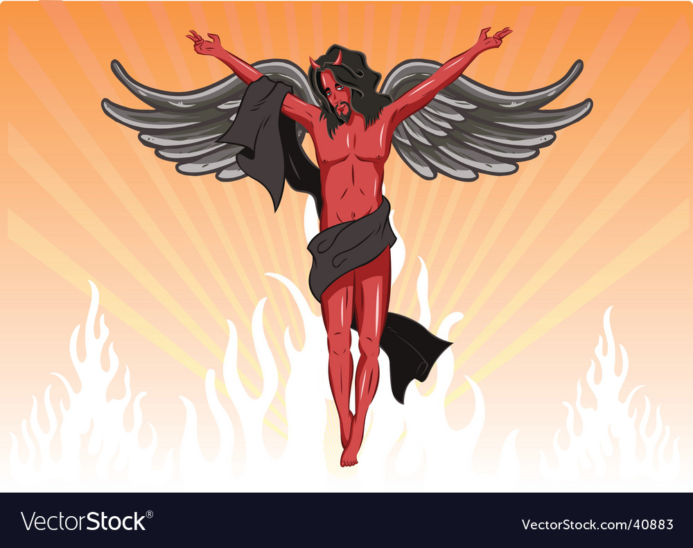 Male devil illustration vector   Price: 1 Credit (USD $1)