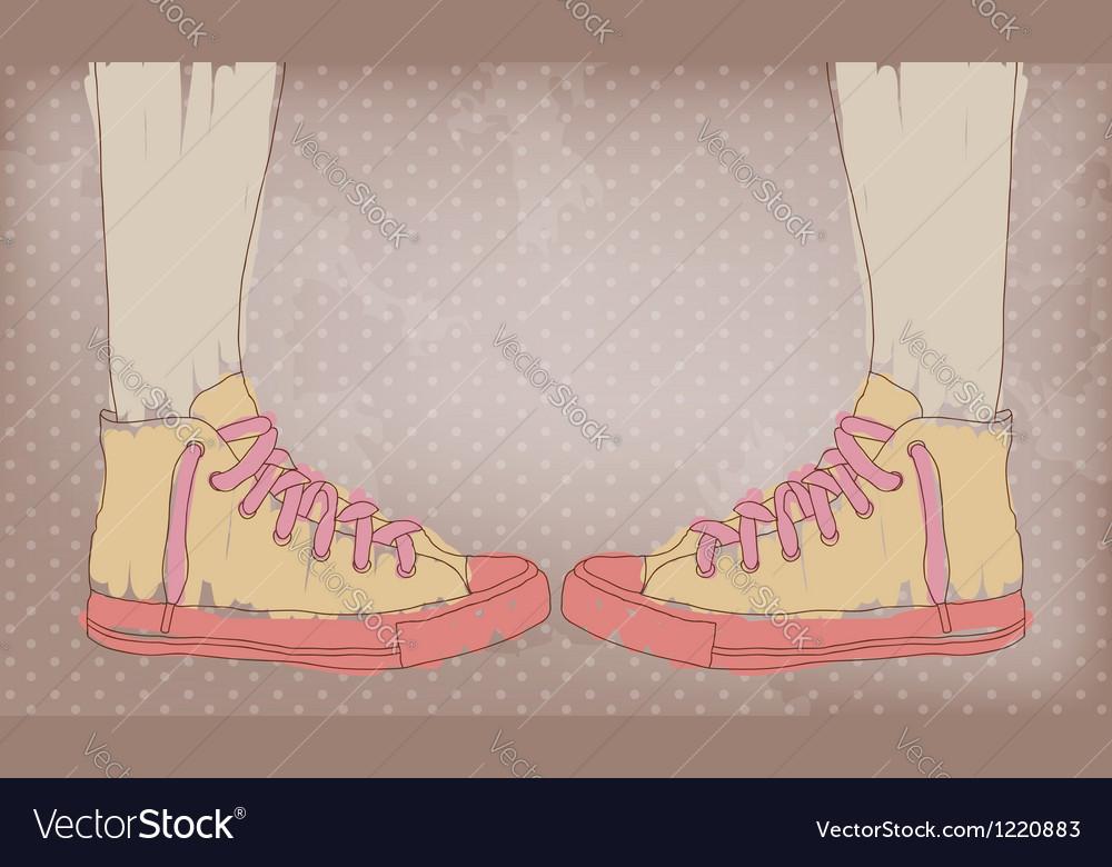 Sneakers vector   Price: 1 Credit (USD $1)