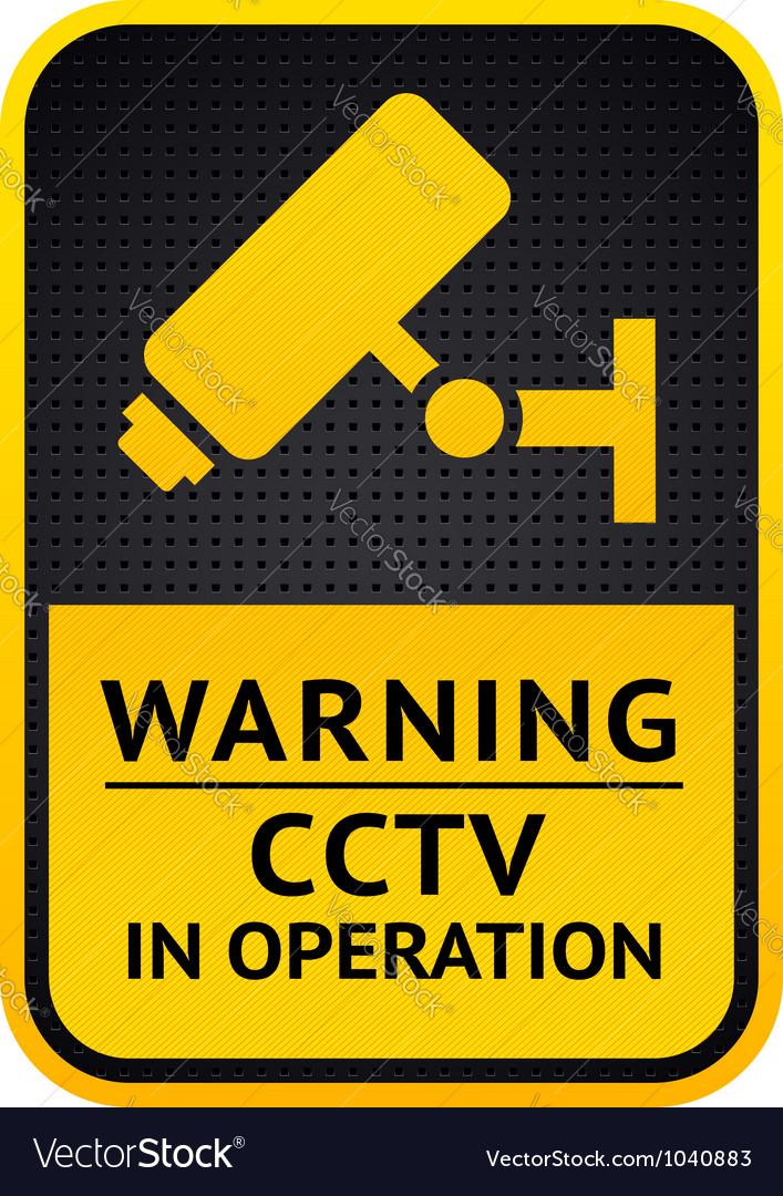 Video surveillance sticker 10eps vector | Price: 1 Credit (USD $1)