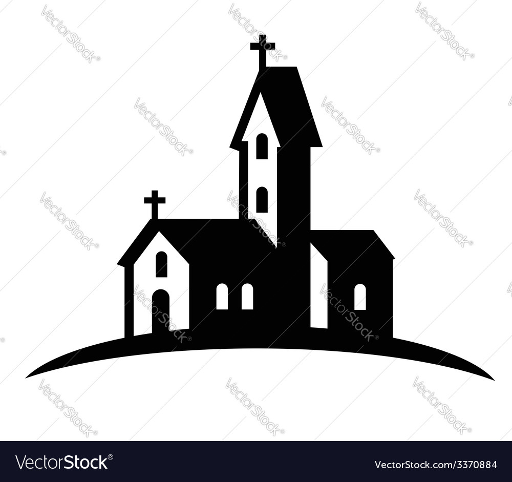 Church icon vector | Price: 1 Credit (USD $1)