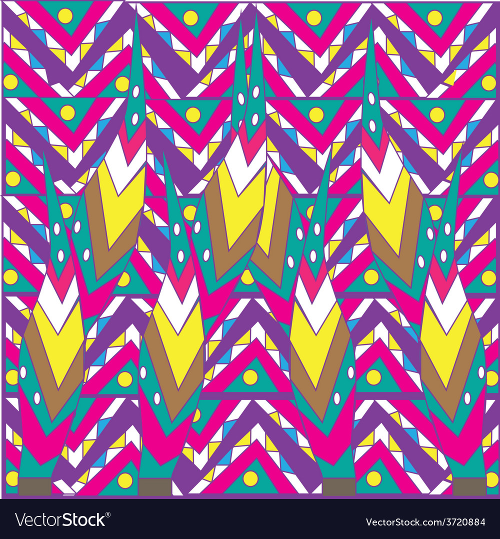 Colorful pattern vector | Price: 1 Credit (USD $1)