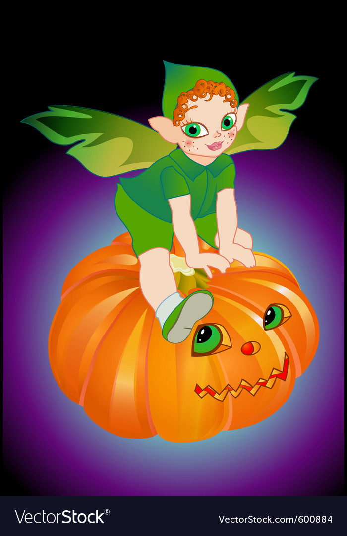 Halloween pixie vector | Price: 1 Credit (USD $1)
