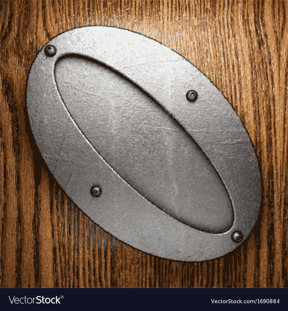 Metal and wood background vector   Price: 1 Credit (USD $1)